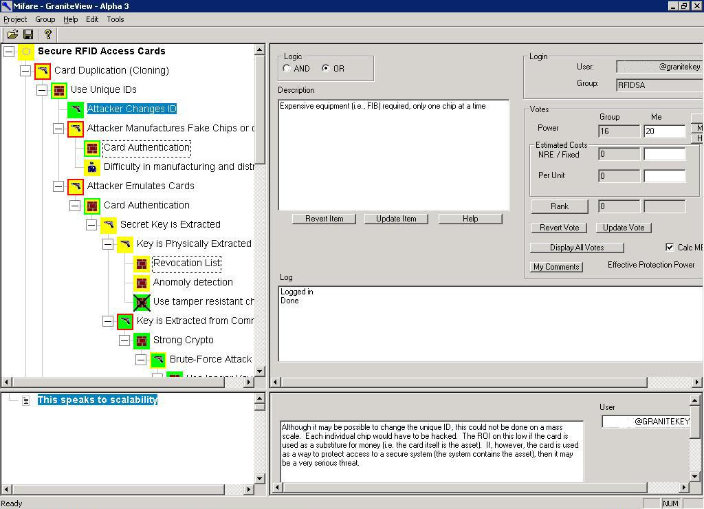 threat model template - granitemine mifare sample threat model